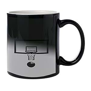 Panier de basket-ball Journal–La chaleur Morph Tasse à café mug