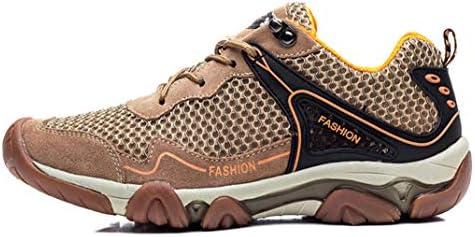 SHANGWU Scarpe da Escursionismo A Maglia da Uomo Scarpe da da da Acqua Traspiranti Sandali da Trekking scarpe da ginnastica da Esterno Scarpette da Trekking per Esterni (Coloreee   Marronee, Dimensione   38) B07MGHJPPK Parent | Grande vendita  | Di Modo Attrae 993d9c