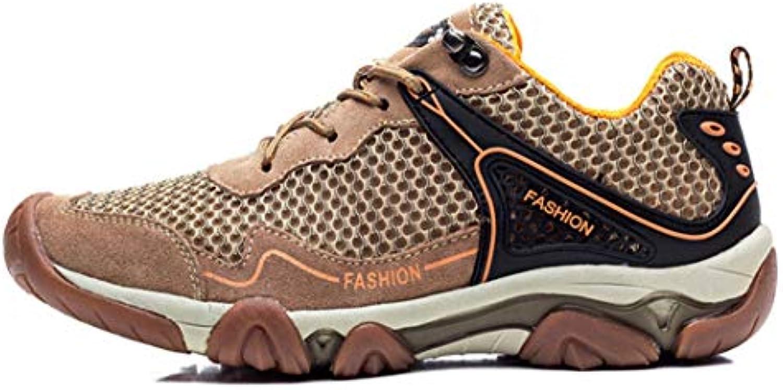 e044624b8ab23d SHANGWU Scarpe da Escursionismo A Maglia da Uomo Scarpe da Acqua  Traspiranti Sandali da Trekking scarpe
