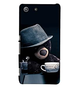 PRINTSHOPPII TEDDY BEAR Back Case Cover for Sony Xperia M5 Dual E5633 E5643 E5663:: Sony Xperia M5 E5603 E5606 E5653