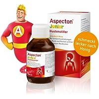 Aspecton Hustenstiller Junior Spar-Set 3x100ml. Hilft, Reizhusten zu lindern und die entzündete Atemwegsschleimhaut... preisvergleich bei billige-tabletten.eu