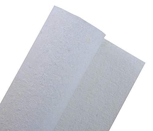 Geotextilvlies Drainagevlies Filtervlies Trennvlies wasserdurchlässig weiß Unkrautvlies Faservlies 200g/m²-600g/m² Breite Länge Grammatur wählbar (400g/m² in 2m Breite)