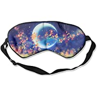 Artistic Moon With Hope Sleep Eyes Masks - Comfortable Sleeping Mask Eye Cover For Travelling Night Noon Nap Mediation... preisvergleich bei billige-tabletten.eu