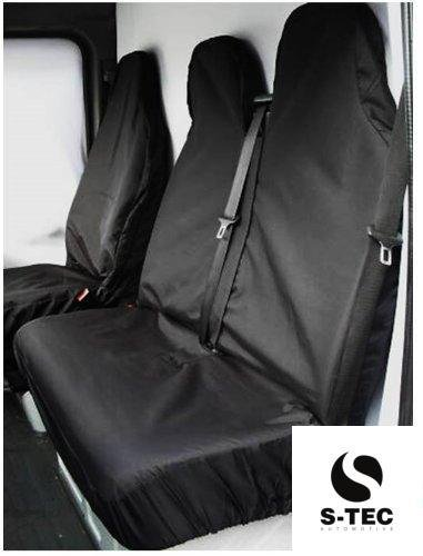 iveco-daily-waterproof-black-van-seat-covers-2-1-attractive-design-heavy-duty-durable