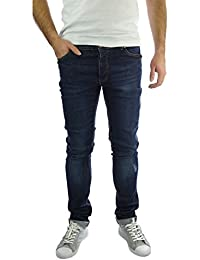 Pour Homme Jeans Brave Soul Pavin Skinny stretch Distressed Denim Décontracté pour femme