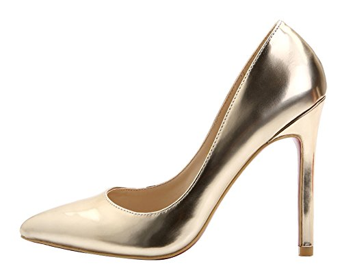 Guoar - Scarpe chiuse Donna (C-Gold)