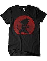 Camisetas La Colmena 2201-Parodia Kame Hame Ha - Dragon Ball - Goku (Melonseta
