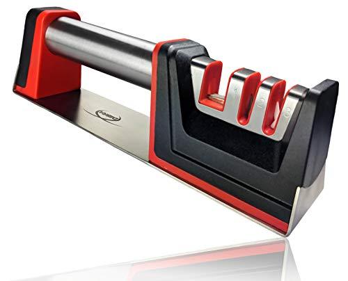 DIIBRA Messerschleifer | Messerschärfer | Scherenschleifer | Knife Sharpener | Schärfer | Geschenk für Männer