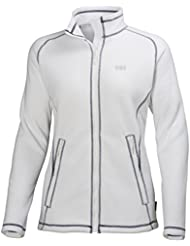 Helly Hansen W ZERA FLEECE JACKET - Chaqueta polartec para hombre, color blanco, talla S