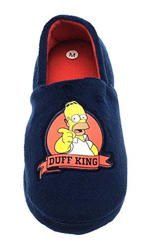 mit Plateau Durchg盲ngies King The Herren Homer Sandalen Keilabsatz Duff Simpsons wqXqfWxU