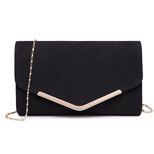 Miss Lulu Mujer Carteras Mano Cadena Embragues