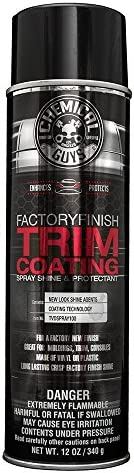 Chemical Guys  Factory Finish Trim Coating and Protectant, 12oz, 1 Pack, TVDSPRAY100