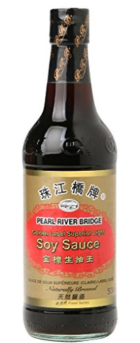 [ 500ml ] PEARL RIVER BRIDGE Golden Label Superior Helle Sojasauce / Light Soy Sauce Helle Soja Sauce