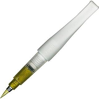 Kuretake ZIG Fude Pinselstift, Memory System Wink von Luna Bürste, Gold (dbb190–101)