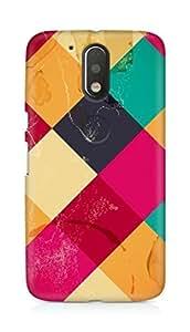 Amez designer printed 3d premium high quality back case cover for Motorola Moto G4 (Hinh Nen Pattern)