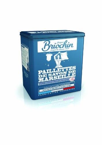 Jacques Briochin - BRI77 - Lessive - Paillettes de Savon de Marseille Boite Métal - 750 g