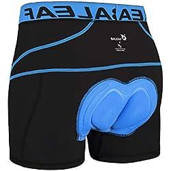 Baleaf Caleeçon de Cyclisme Avec Peau Pour Homme Bleu Taille L