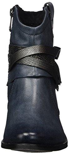 Marco Tozzi Damen 25043 Stiefel Blau (Navy Antic Com)
