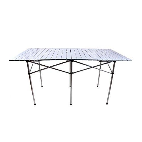 MSF Table Pliante Table Pliante - Table Portable extérieure/Table Ultra légère pour la Maison/Table Multifonctions en Alliage d'aluminium