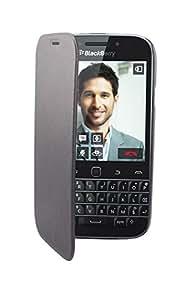 Swiss Charger SCP41266 Etui folio en cuir pour BlackBerry Classic Q20 Noir