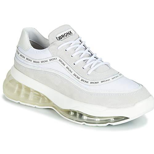 Bronx Damen Sneaker Low Bubbly weiß 38