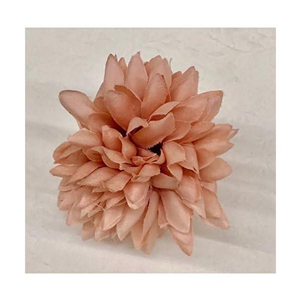 Publilancio srl Dalia Media 6.5cm, Color Rosa Flor Artificial para bombonera