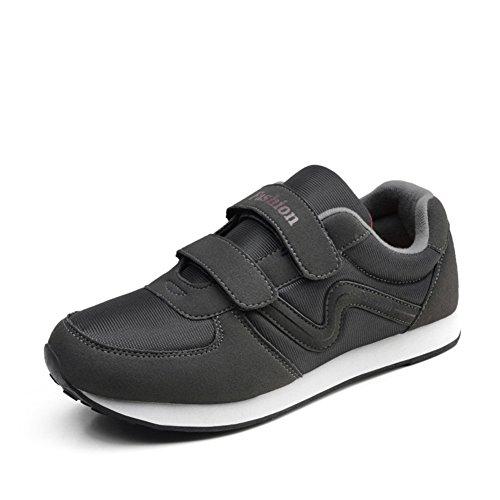 Automne marcher dans des chaussures moyens et vieux/Chaussures anti-dérapant/Formateurs/La fin de la vieille chaussure soft C
