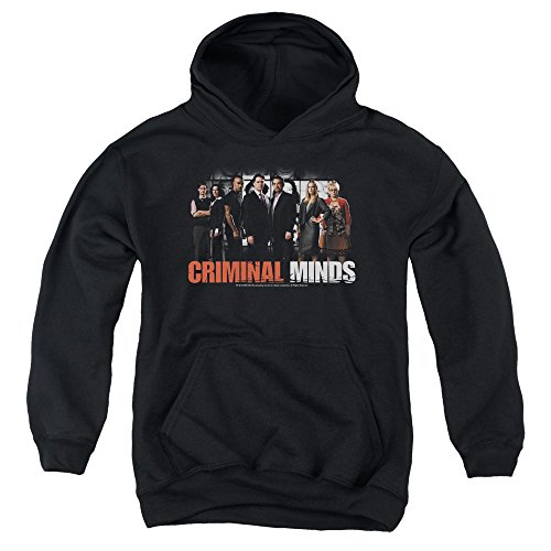 2Bhip Criminal Minds TV Show CBS The Brain Trust Big Boys Youth Pull-Over Hoodie
