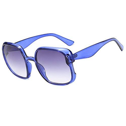 PROMISE-YZ Sonnenbrille Polarisierte sonnenbrille 100% UV 400-Schutz Modetrend-Strandsonnenbrillereise, die quadratische Gläser der Damenfarbe fährt