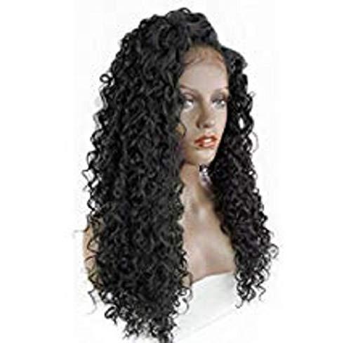Kangrunmys Perruque Femme Naturelle BréSilien Dentelle Chic Mode Elegant Fille Princesse Charmant Wigs BoucléE Cheveux Wave OnduléS Cheveux Lace