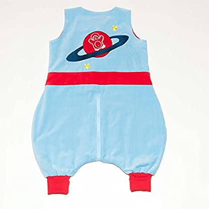 415qe9Dk4mL. SS416  - The PenguinBag Company Astronauta - Saco de dormir con piernas, TOG 1.0, talla S
