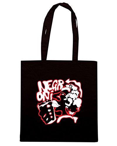 T-Shirtshock - Borsa Shopping BEER0263 negroni cocktail Nero