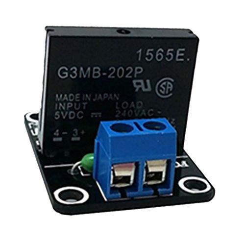 Almencla 240 V G3mb 202p Solid State Relaismodul Für Industrie,DIY Elektronik Hobby - 24V 1 Kanal -