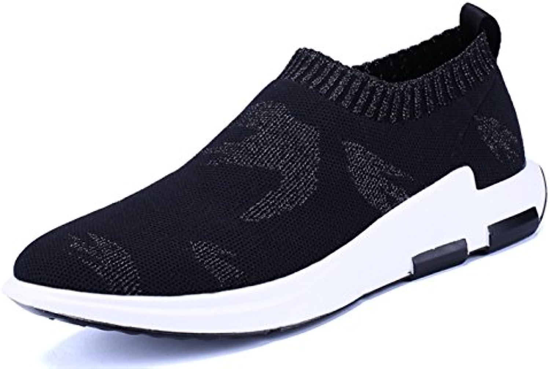 LanFengeu Frühlings Freizeitschuhe Herren Schnürhalbschuhe Tragene AntiRutsche Sportlicher Sneakers