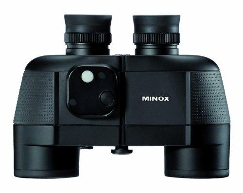 MINOX BN 7x50 C Fernglas Schwarz – Schwimmfähiges Marine-Fernglas mit Kompass für präzise...