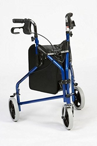 drive-medical-blue-steel-three-wheeled-tri-walker-with-brakes-shopping-bag