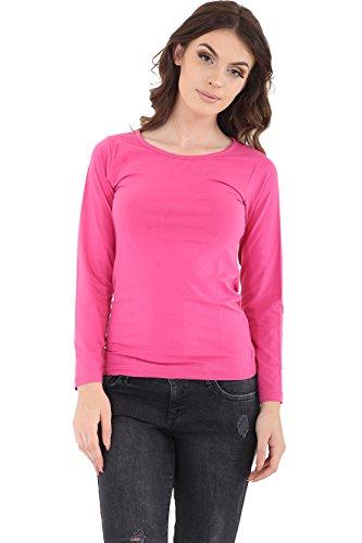 GW CLASSYOUTFIT® Damen Lamarmshirt kirsch-pink