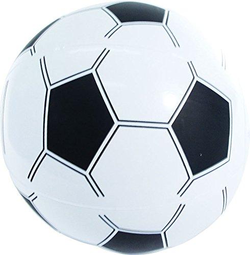 e Fußbälle - 12 Inflatable Beach Ball Style Footballs 35cm (12 Beach-ball)