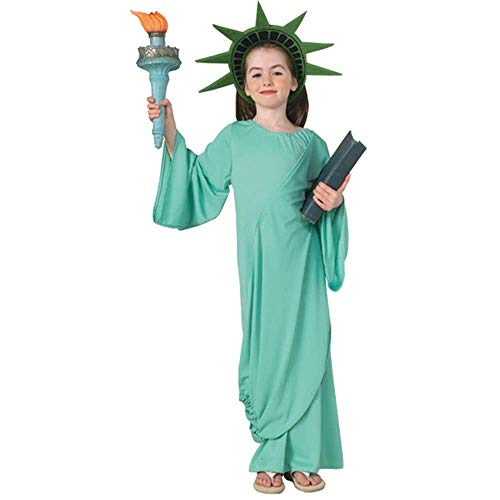 Kostüm Of Statue Kind Liberty - Statue Of Liberty Child Medium by Unknown