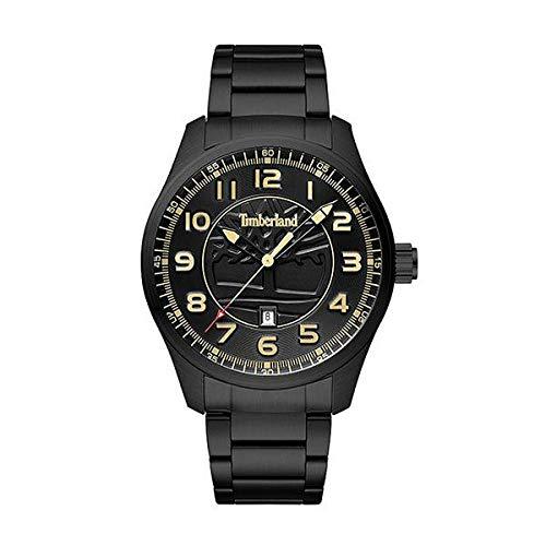 Timberland Reloj Analógico para Hombre de Cuarzo con Correa en Acero Inoxidable 4895148698358