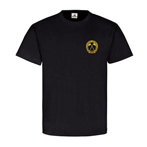 Brustabzeichen Heeresaufklärungstruppe Brustabzeichen Orden Uniform Heer Aufklärungstruppe Truppengattung Bundeswehr - T Shirt #986, Größe:4XL, Farbe:Schwarz