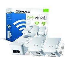 Devolo - 9639 - dLAN 550 WiFi Prise réseau CPL Wi-Fi 550 Mbits/s 1 - Kit Réseau