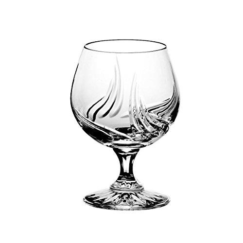Crystaljulia 5794 Cognacglas Bleikristall 6 Stück, 250 ml