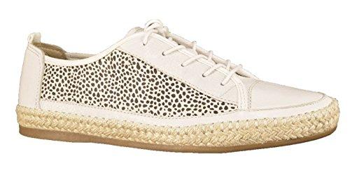 Tamaris  1-1-23621-26-103, Chaussures de ville à lacets pour femme blanc Weiß 36 Blanc