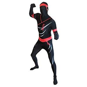 Morphsuits - Disfraz ninja para hombre, talla L (MPNIL)