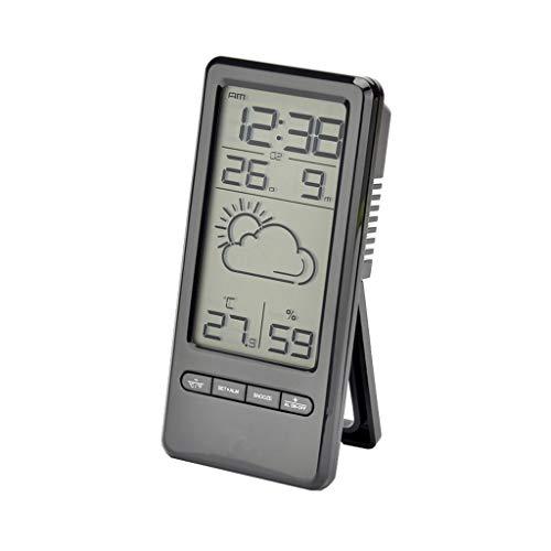 Xu Yuan Jia-Shop Mini Pronóstico meteorológico Lindo Reloj Estación meteorológica Pronóstico meteorológico...