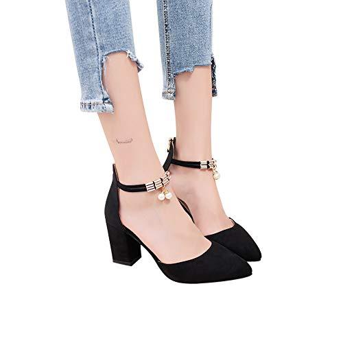 Subfamily moda femminile grosso con sandali poco profondi sandali con strass a punta con zip san valentino sandali da spiaggia scarpe romane scarpe singole scarpe sportive