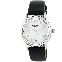 Montblanc Meisterstuck 107118–Swiss Made automático de acero inoxidable reloj de pulsera para mujer
