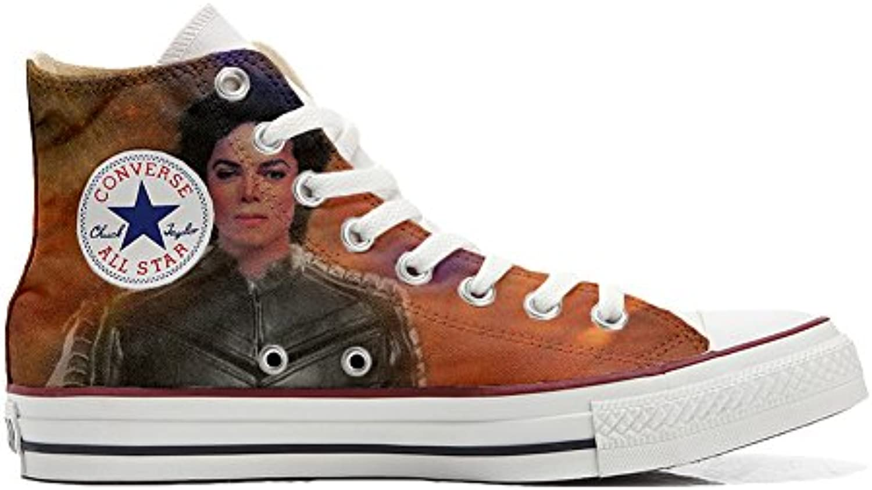 Converse Custom   personalisierte Schuhe (Handwerk Produkt) The King of the rock