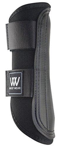 WOOF KLEIDUNG Doppel Verschluss Bürst Stiefel - Größe:Mittlere Farbe:Schwarz